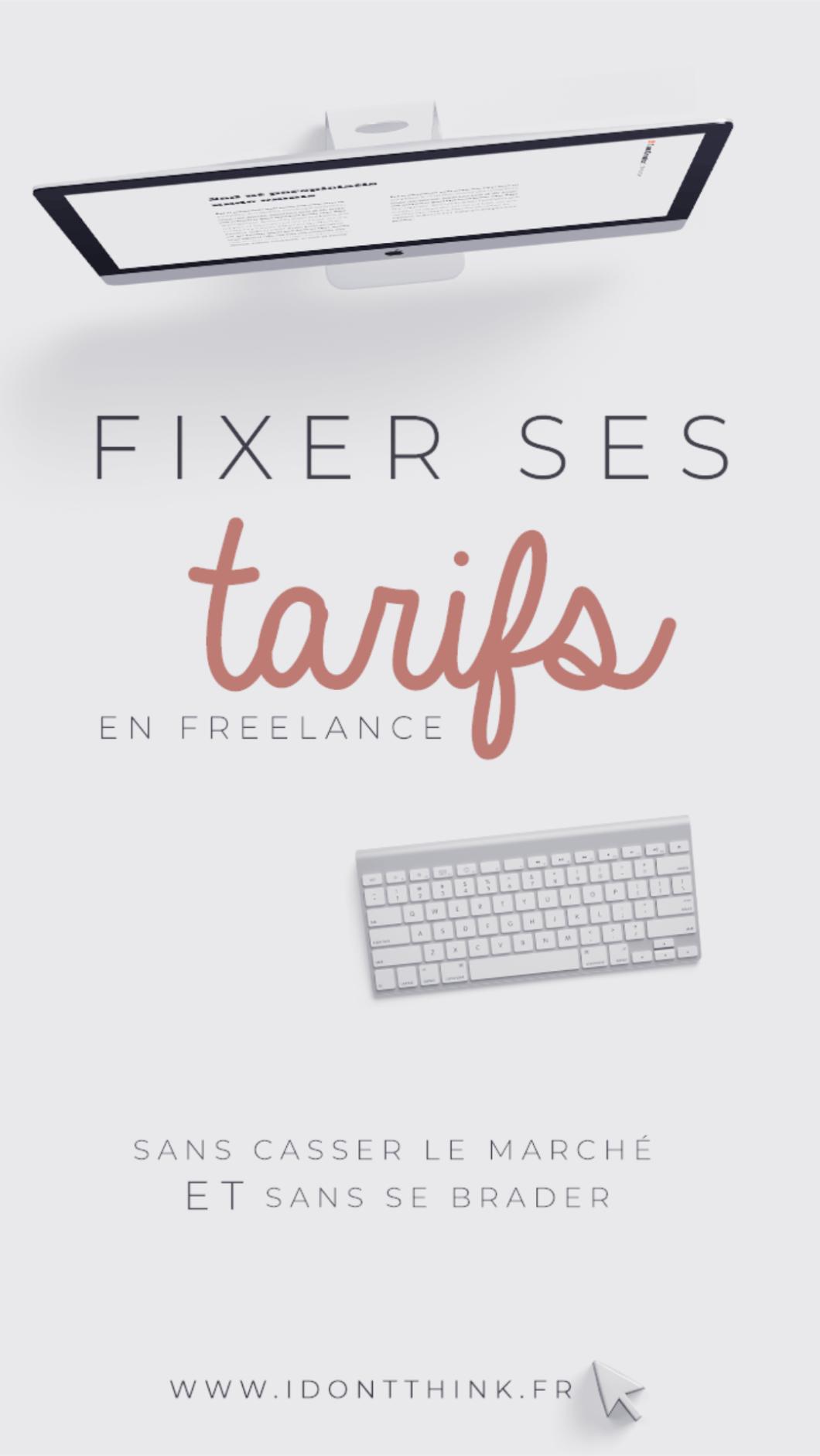 Freelance : comment fixer ses tarifs ?