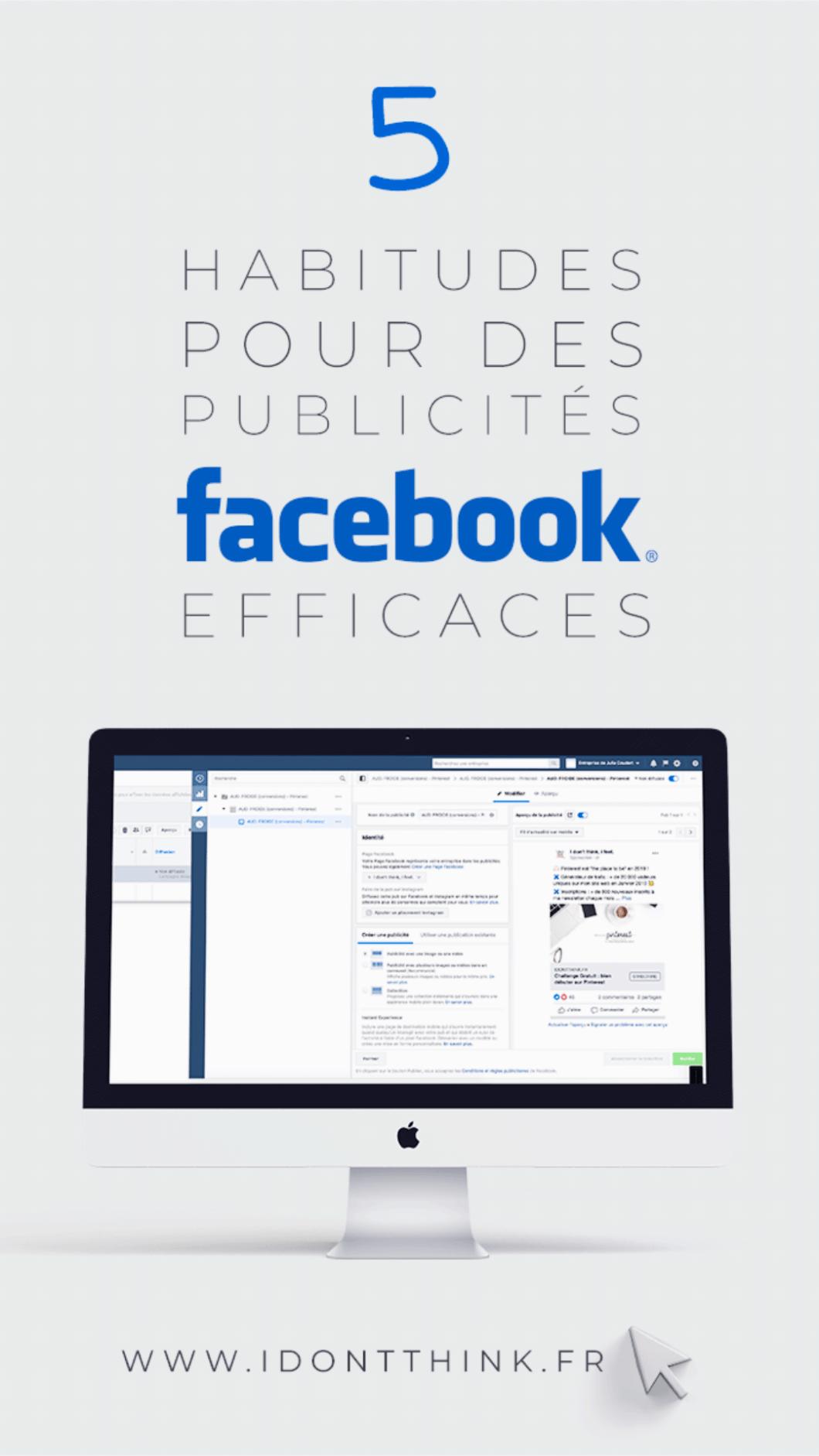 Comment faire des publicités Facebook efficaces ?