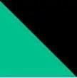 Verde Marino y Negro