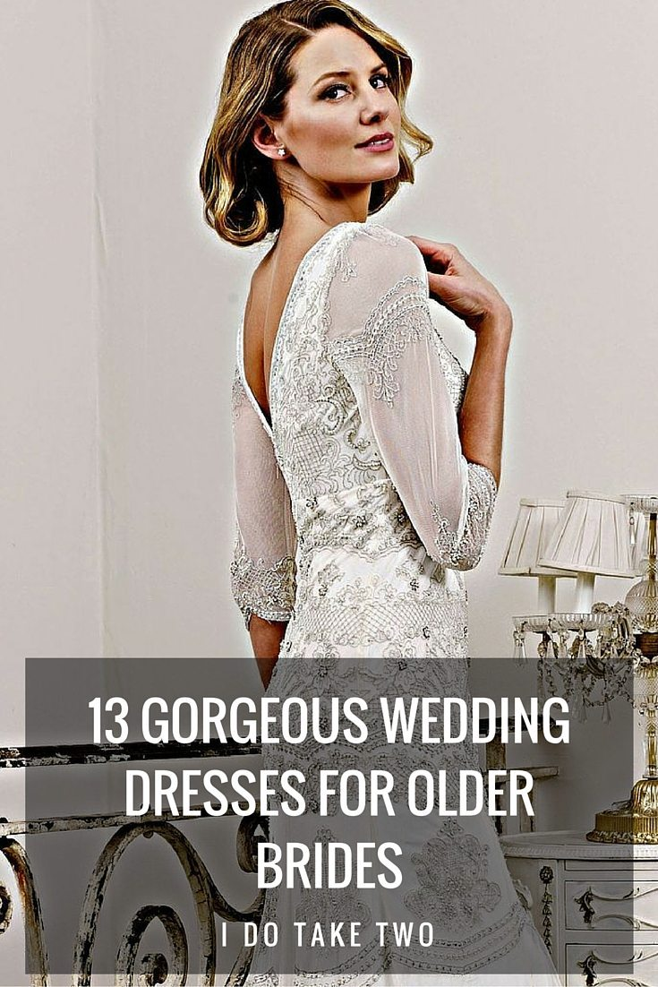 13 Gorgeous Wedding Dresses for Older Brides
