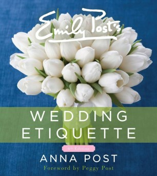 wedding etiquette book