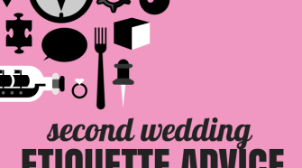 second wedding etiquette advice