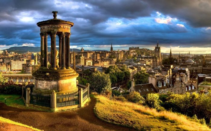 Edinburgh honeymoon