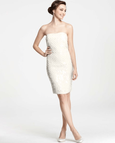 Ann Taylor Collection. Perfect For Second Wedding Dresses