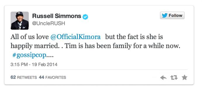 Kimora Lee Simmons married