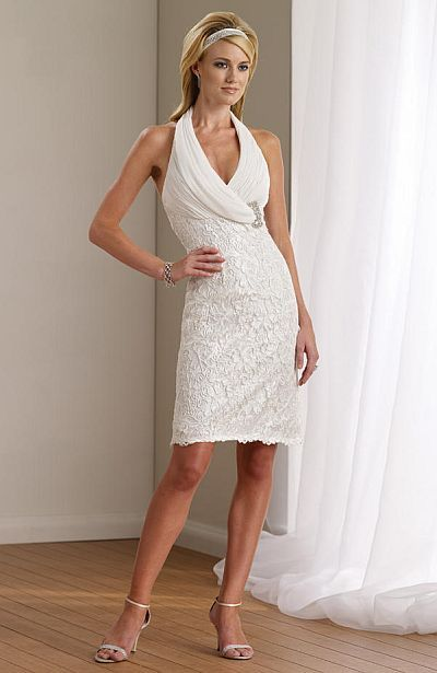 cute vow renewal dress
