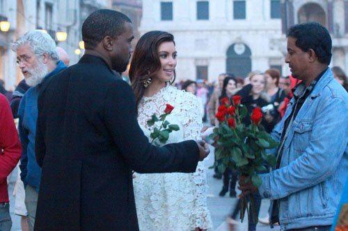 kanye wedding