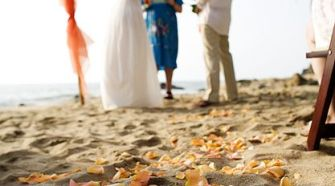 beach vow renewal dresses