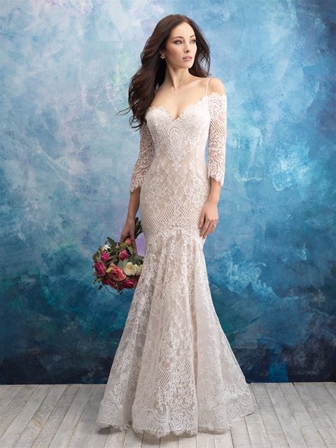 style 9551 allure bridals