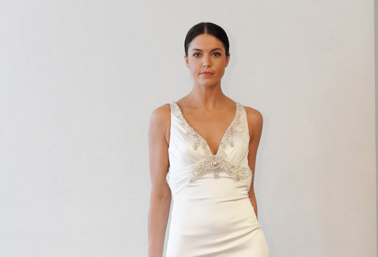 Older bride wedding dresses we spotted loved from spring 2015 older bride wedding dresses we spotted loved from spring 2015 bridal fashion week ombrellifo Choice Image