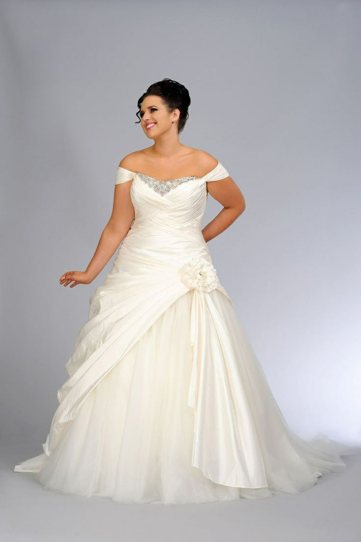 Second Wedding Dress For Plus Size Bride