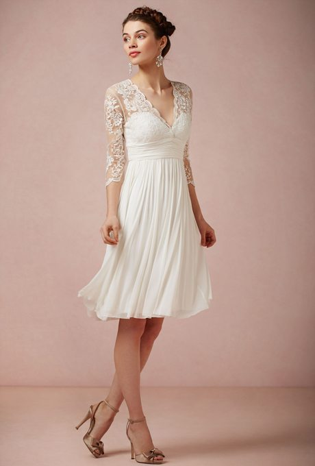 Short Destination Wedding Gowns