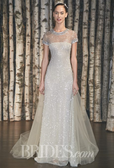 Sparkling Glittering Wedding Gowns For Your Vow Renewal