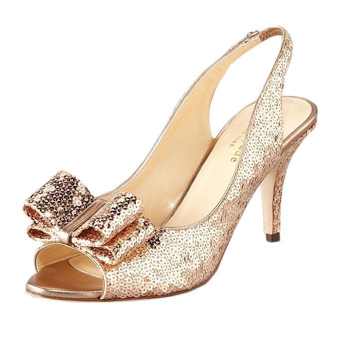 sparkling sophisticated kitten heels for your walk down
