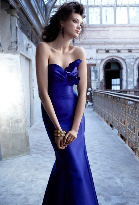 royal blue bridesmaids dresses
