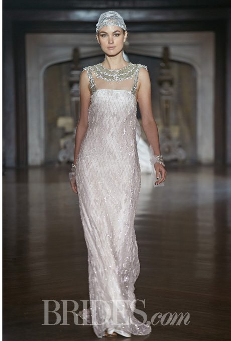 1920's inspired wedding gowns