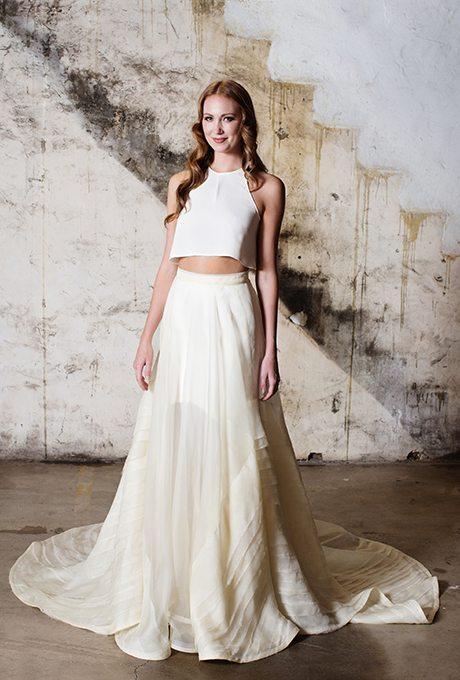 Alternative Two-Piece Wedding Gowns