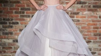 Alternative Two-Piece Wedding Gowns