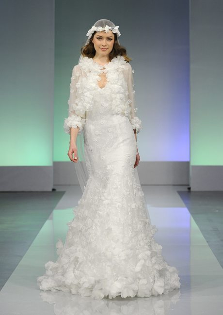 Wedding Gowns with Coats