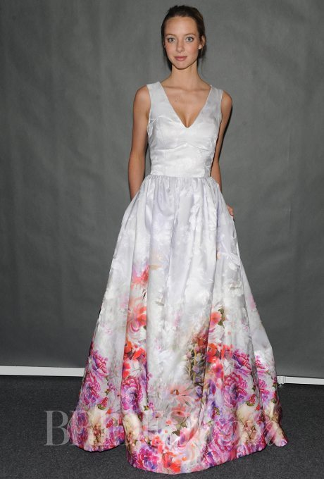 Multi-Colored Wedding Gowns with Tons of Personality