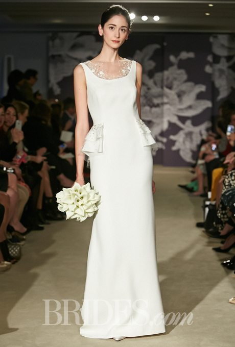 Sultry, Silk Plus-Size Wedding Gowns