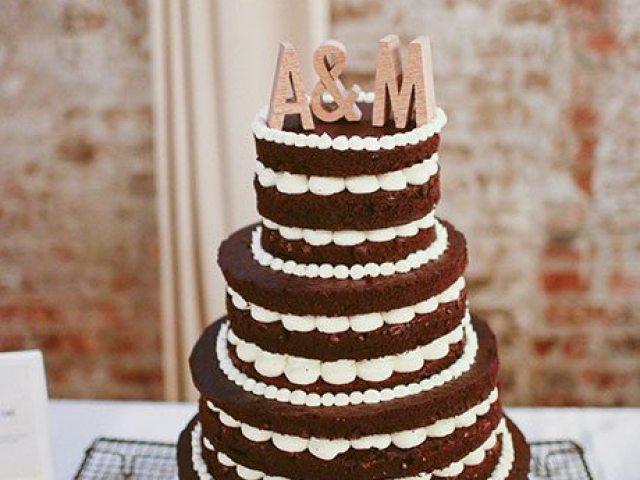 Chocolate Wedding Cakes