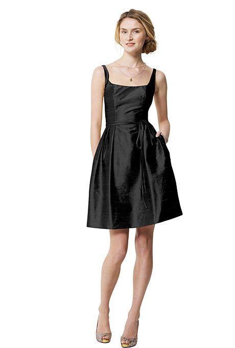 Simple Maid of Honor Dresses