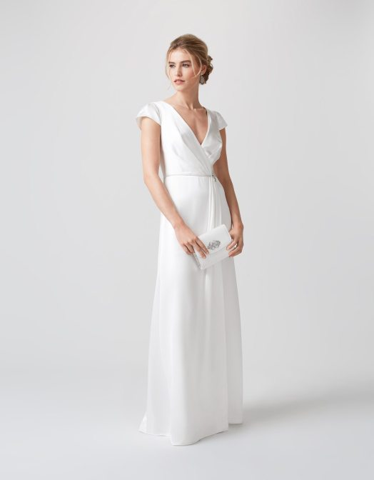 c4f7ce7d01e Classic Wedding Gowns For the Over-50 Bride