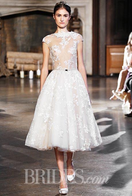 Tea-Length Wedding Dress