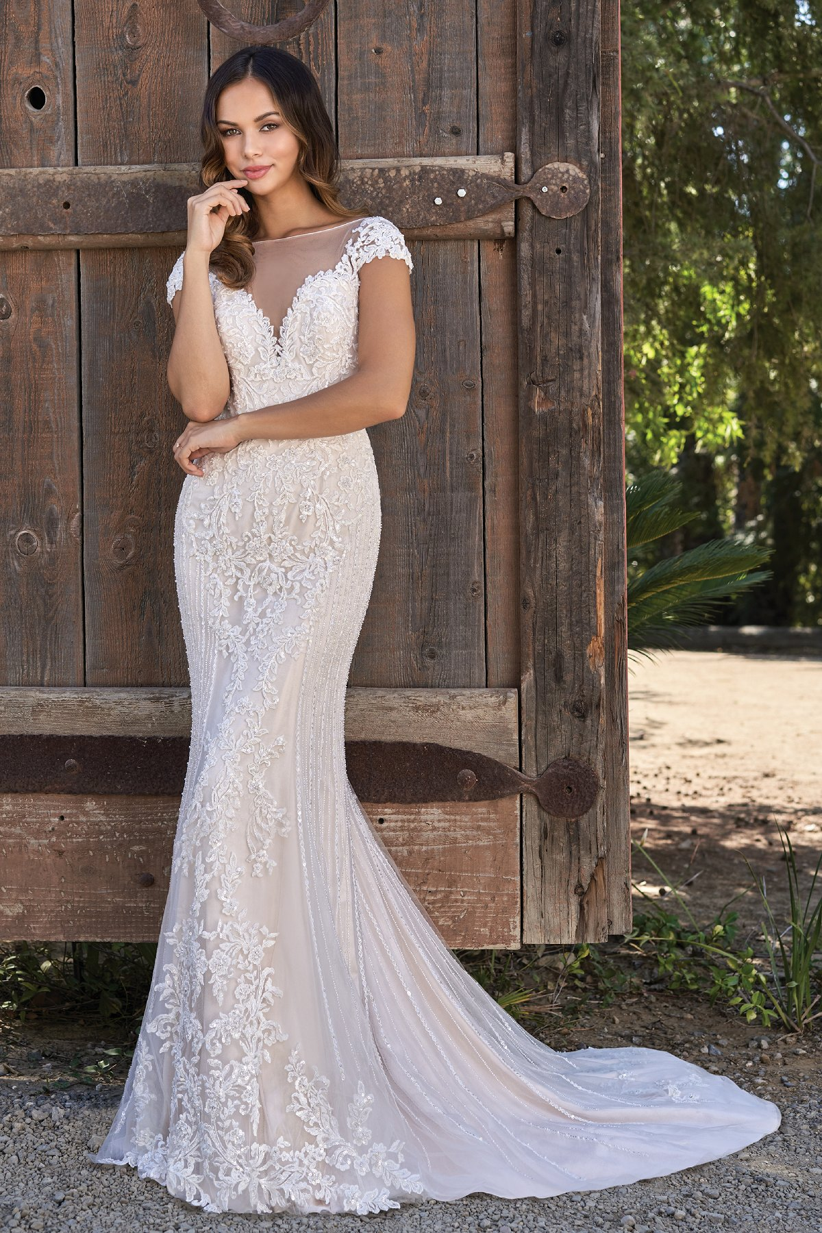 9917e1dc22bf Classic Wedding Gowns for the Over 50 Bride [2019 Edition]