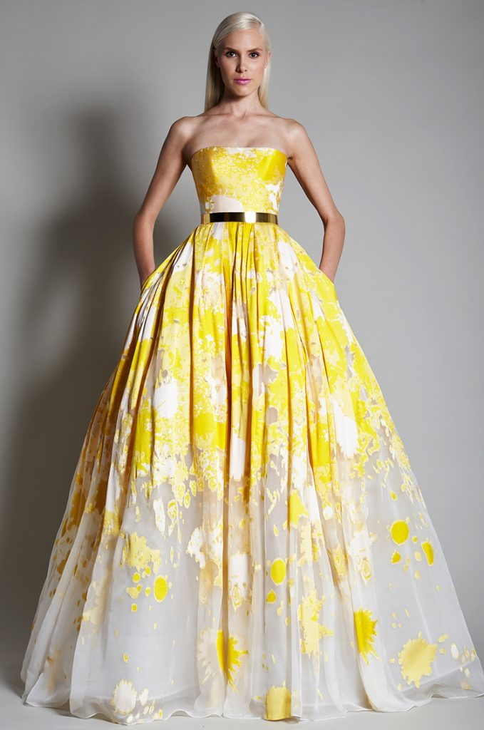 Yellow: Anything But Mellow! Glowing Gowns That Will WOW!   Wedding ...