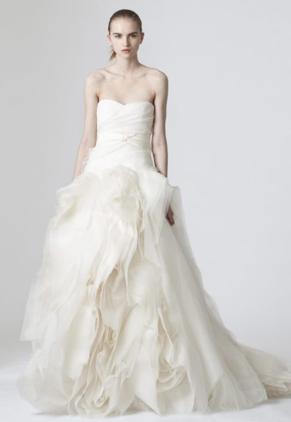 Diana by Vera Wang Wedding Gown