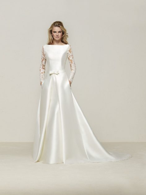 drales by pronovias wedding gown