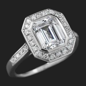 MiaDonna Heirloom Engagement Ring