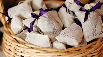 wedding favor potpourri