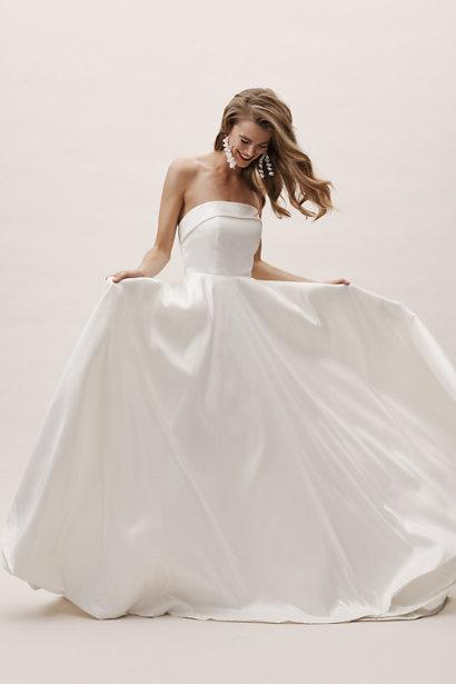 carrington bridal gown BHLDN