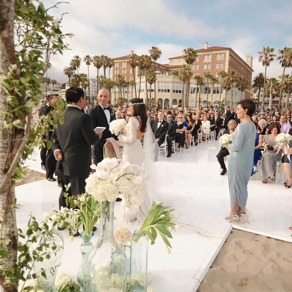 Hotel Casa del Mar, Santa Monica wedding venue