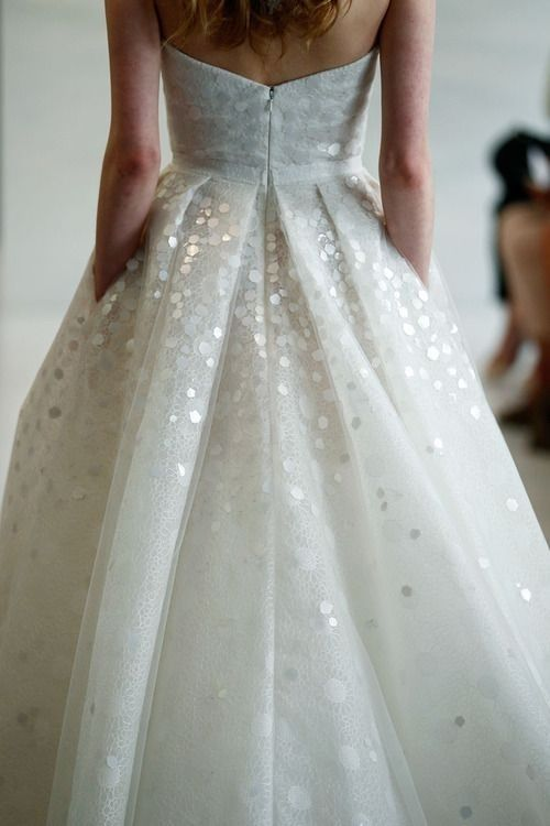 10 Sequins Wedding Gowns For Your Second Walk Down the Aisle: Part 3 ...