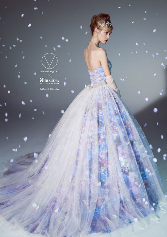 Multi Colored Wedding Gowns With Tons Of Personality Part 3