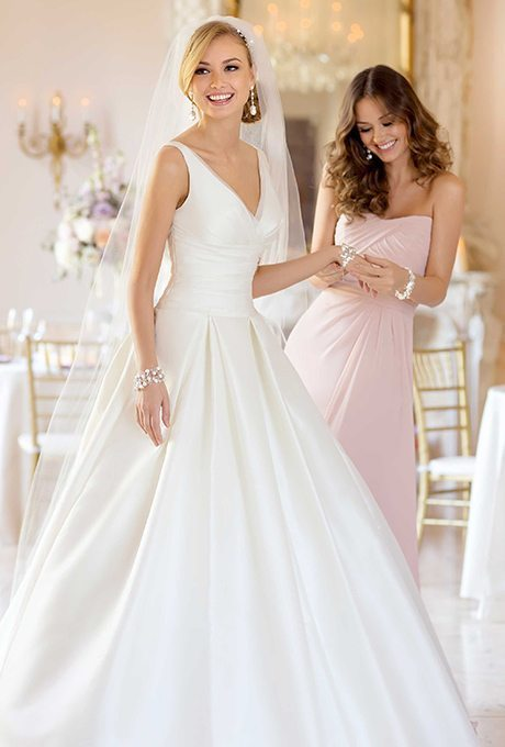 Classic Wedding Gowns for the Over-50 Brides: Part 2