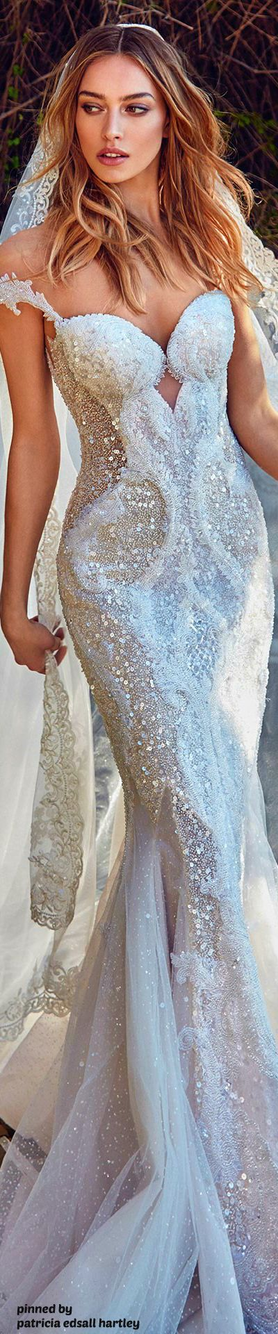 There\'s Just Something About These Sequins Wedding Gowns - BridalPulse