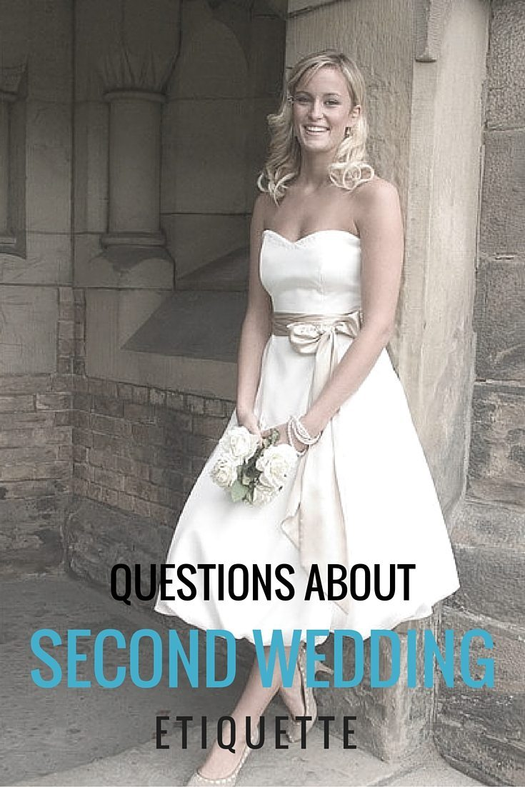 second wedding questions