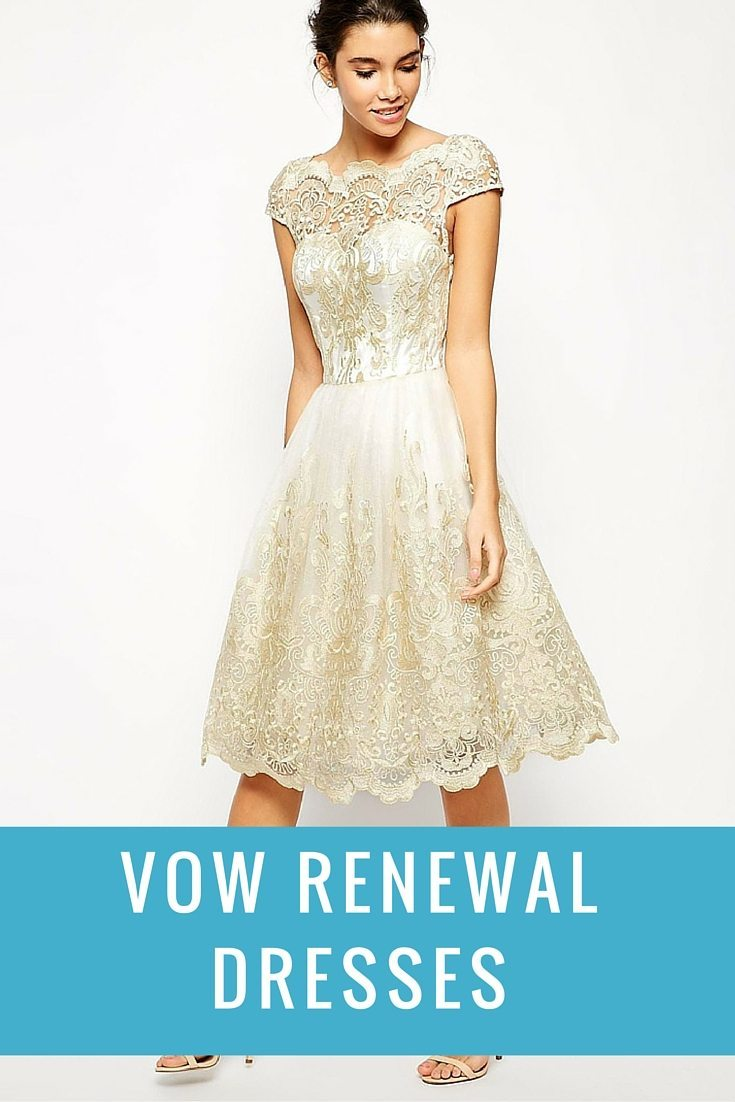 I Do Take Two Dresses For Vow Renewals