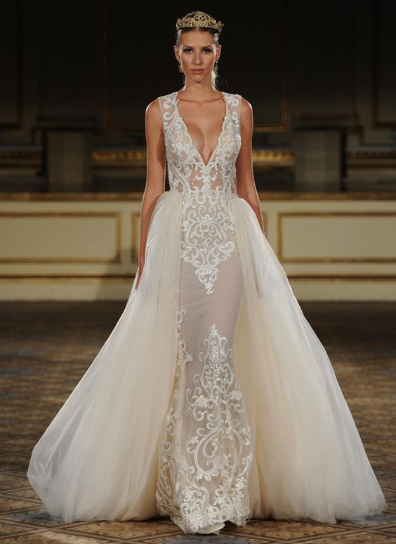 10 Convertible Two In One Wedding Gowns That Will Steal The Show