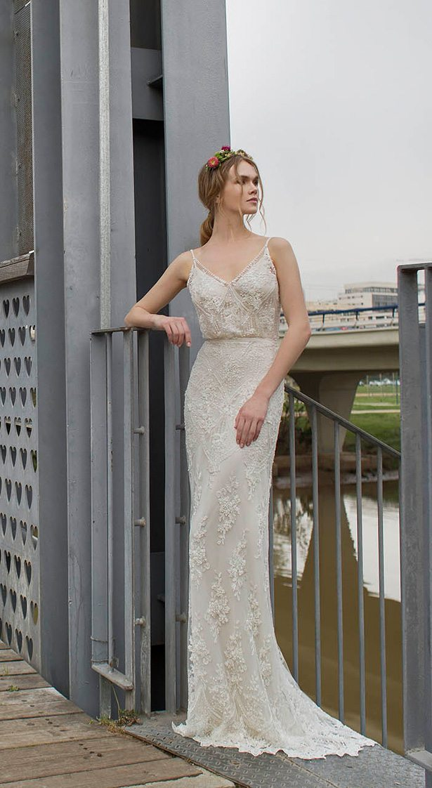 cc7af1140e0 A creamy color with a mix of textural elements and a bit of lace too