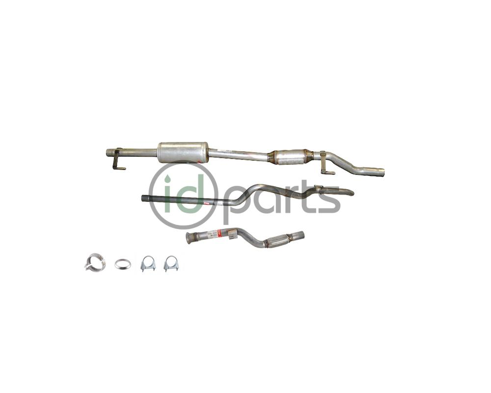 complete exhaust system t1n 144