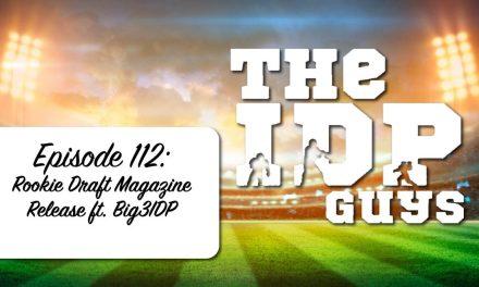 "Episode 112""Rookie Draft Magazine Release ft @Big3IDP"""