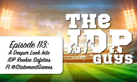 A Deeper Look Into IDP Rookie Safeties ft @StatementGames