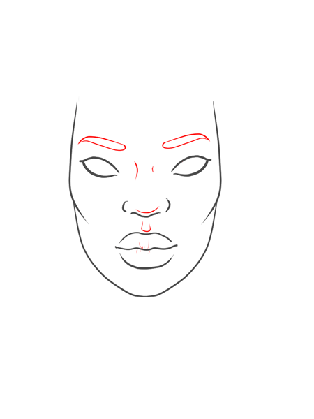 How-to-draw-black-woman-face-in-fashion-design-sketches-step_7