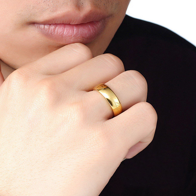 The One Ring Wedding Band